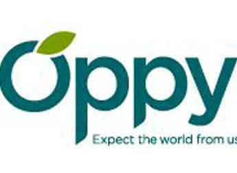 The logo of Allan Bros.' partner company, Oppenheimer Fruit (Oppy).