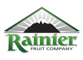 The Rainier Fruit Company logo.
