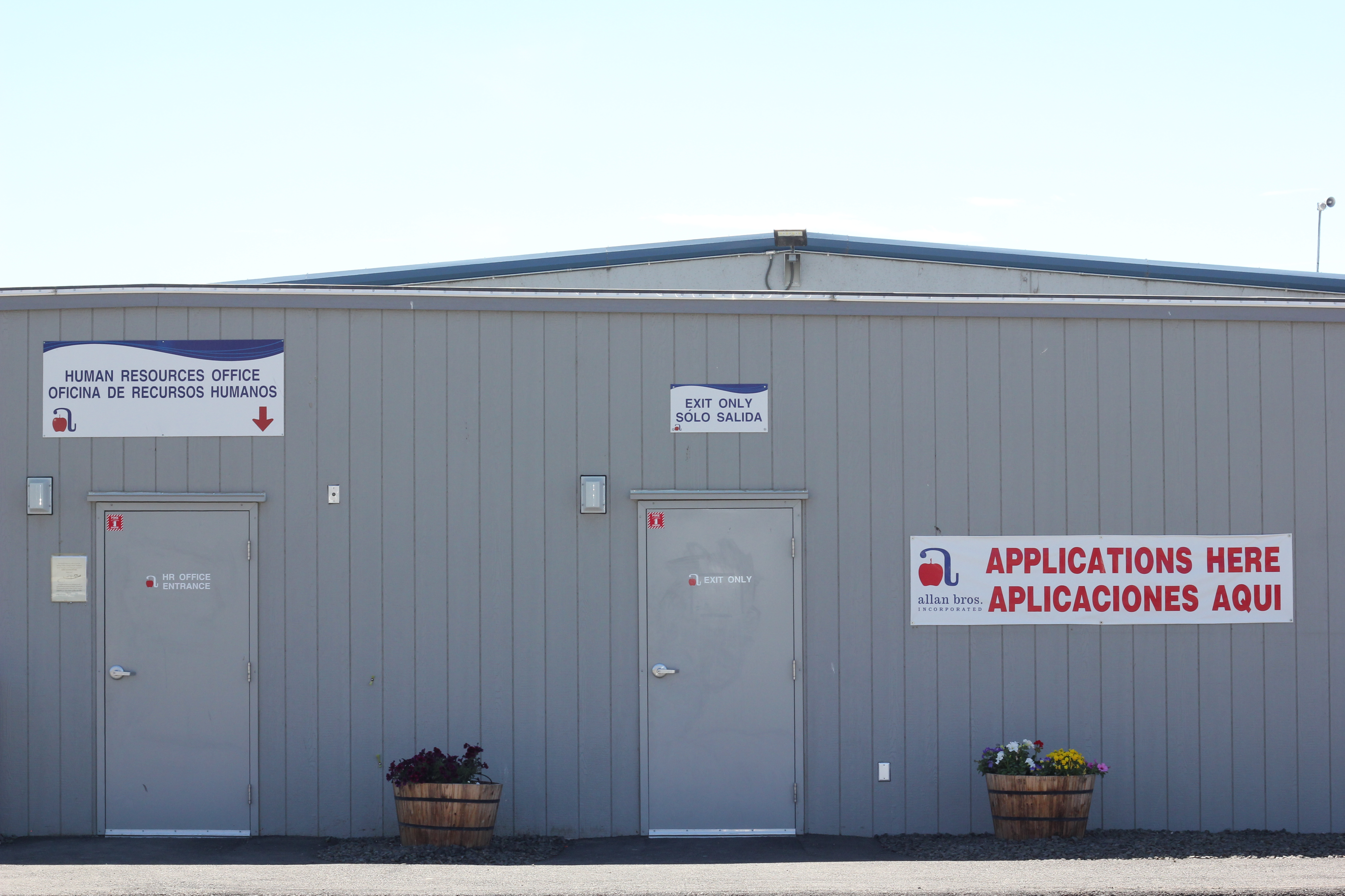 The Allan Brothers applications and new job trailer for the Yakima Valley region.