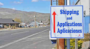 Once on Allan Road, follow the Shipping and Applications signs to the Allan Brothers Human Resources and hiring trailer.