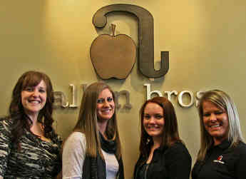 The Allan Brothers Grower Accounting team.